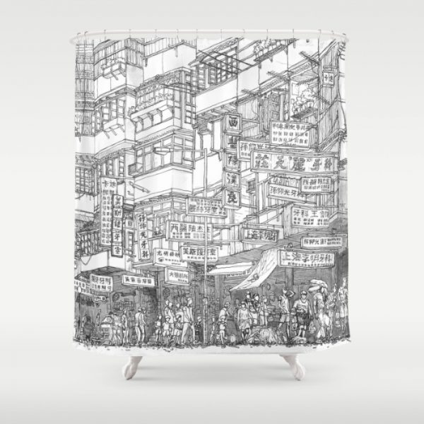 hong-kong-kowloon-walled-city-shower-curtains